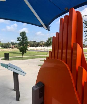 The Morris Sensory Playground is near the new expansion of Bicentennial Boulevard in McAllen.
