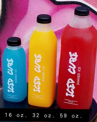 A private alcohol provider creates the blends for ICED CUBE's alcohol-infused raspas.