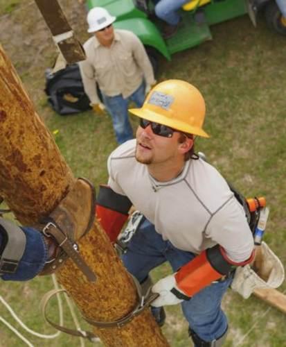 TSTC lineworker