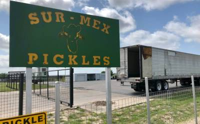 Pickles are among the fruits and vegetables that are expected to increase in volume crossings at the Progreso International Bridge.