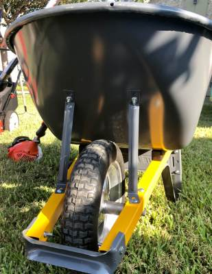 Wheelbarrows are essential for many types of yard work. They are available via the Community Tool Shed program in McAllen.
