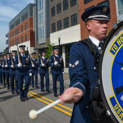 (photo USAF Honor Guard)