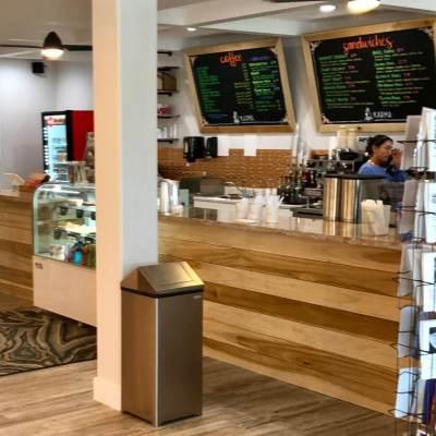 Karma Coffee & Books adds a cool vibe on South Padre Island.