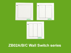 Z-B02ABC-ZB02ABC Wall Switch Series