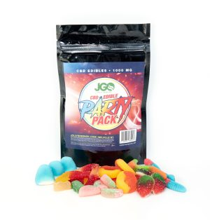 CBD Party Pack Gummy Edibles (Assorted by Jolly Green Oil