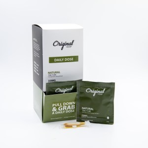 Natural CBD Tincture by Original Hemp (33mg) | Daily Dose