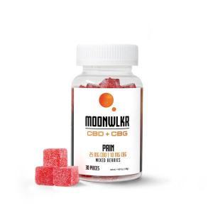 MOON WLKR CBD:CBG Pain Relief Gummies