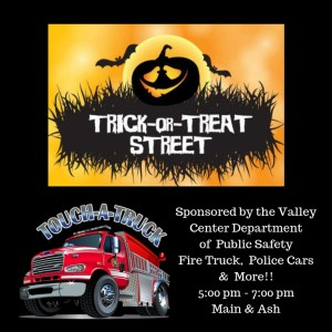 Valley CenterDepartment of Public Safety Fire Truck & PoliceCars
