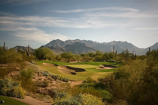 Since opening to the public in 1994, Grayhawk Golf Club has proudly hosted golf enthusiasts worldwide – amateurs to professionals. And Grayhawk seems to shine the brightest when the spotlight of the golf world is firmly fixed on its two golf courses – Talon and Raptor – during competitive tournaments