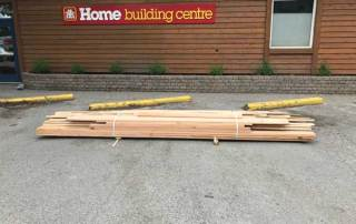 Door and window mouldings and casings for sale in Canmore at Valley Home Building Centre.