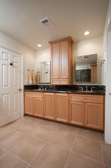 San Jose Master Bathroom Double Vanity (W-QC)