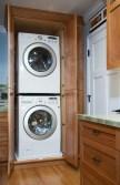 Sunnyvale Kitchen Laundry Cabinets Open (OK)