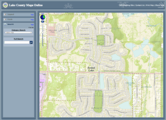 Lake County GIS Maps for Valley Lakes