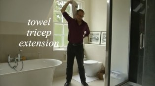 towel tricep extension