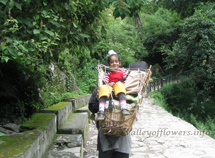 minimum age to visit Valley of Flowers