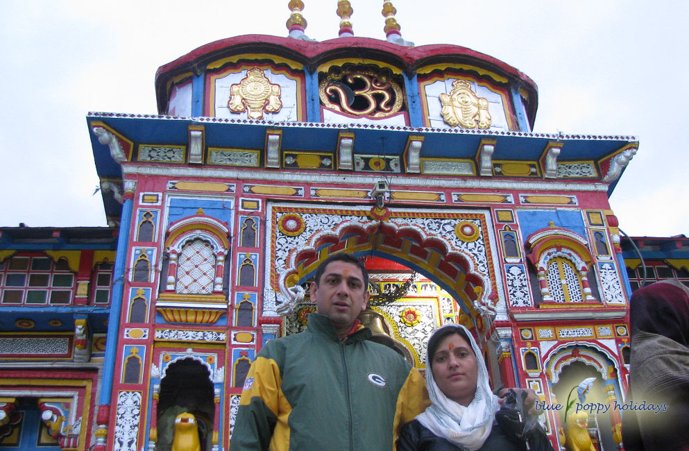 At Badrinath Temple