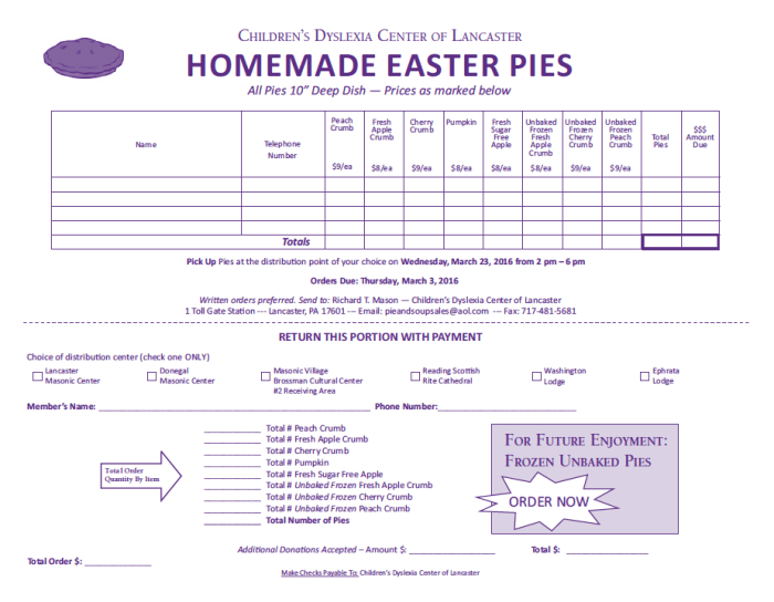 easter pies2016