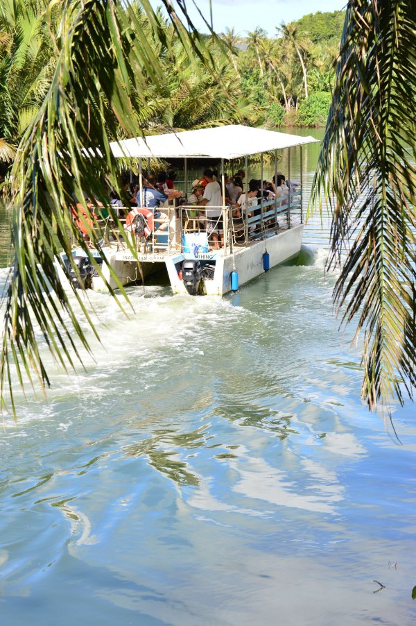 Guam Things to do, Tours, Activities. Valley of the Latte. Adventure River Cruise