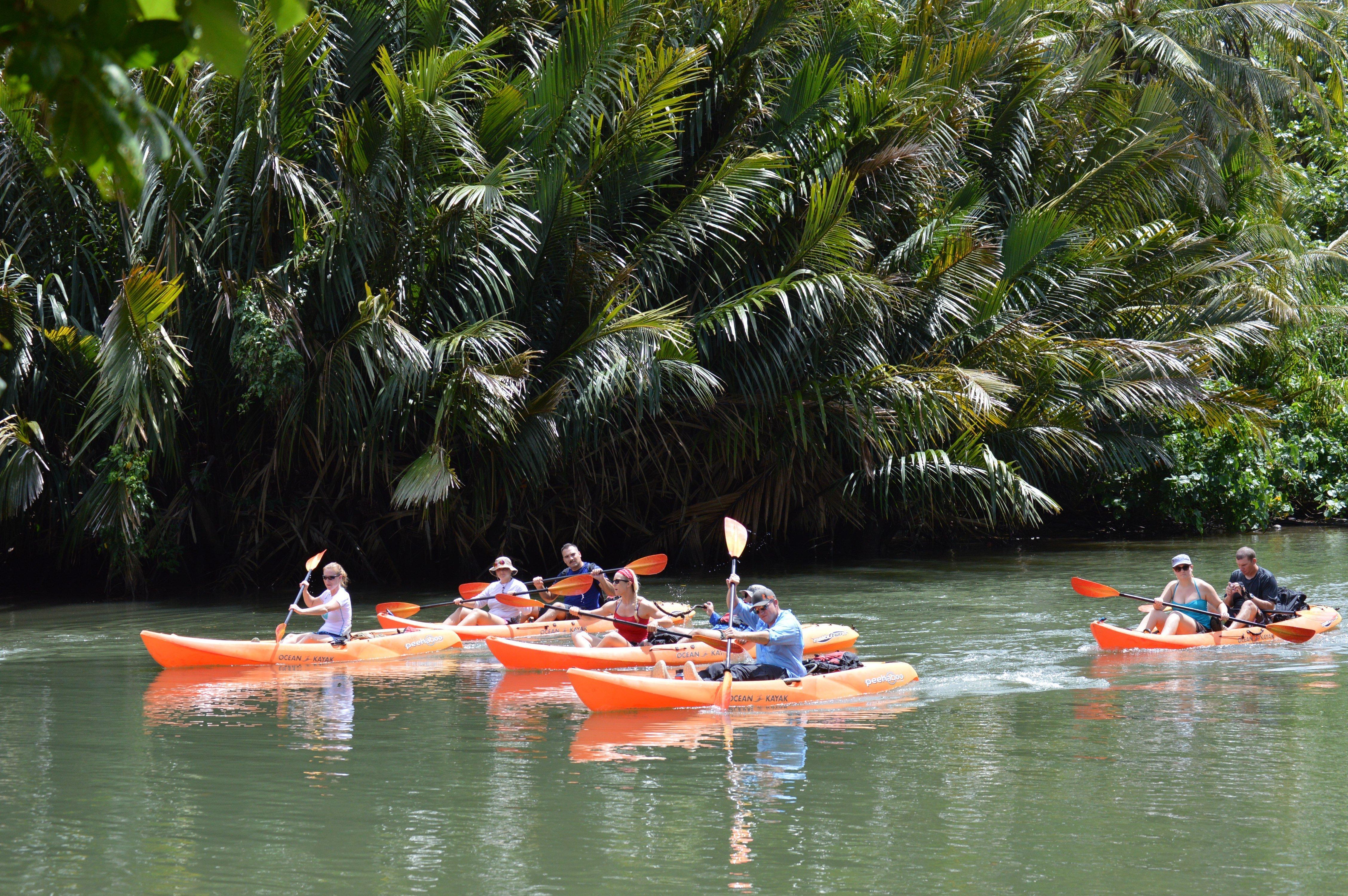 Adventure Kayaking Valley of the Latte Adventure Park Guam