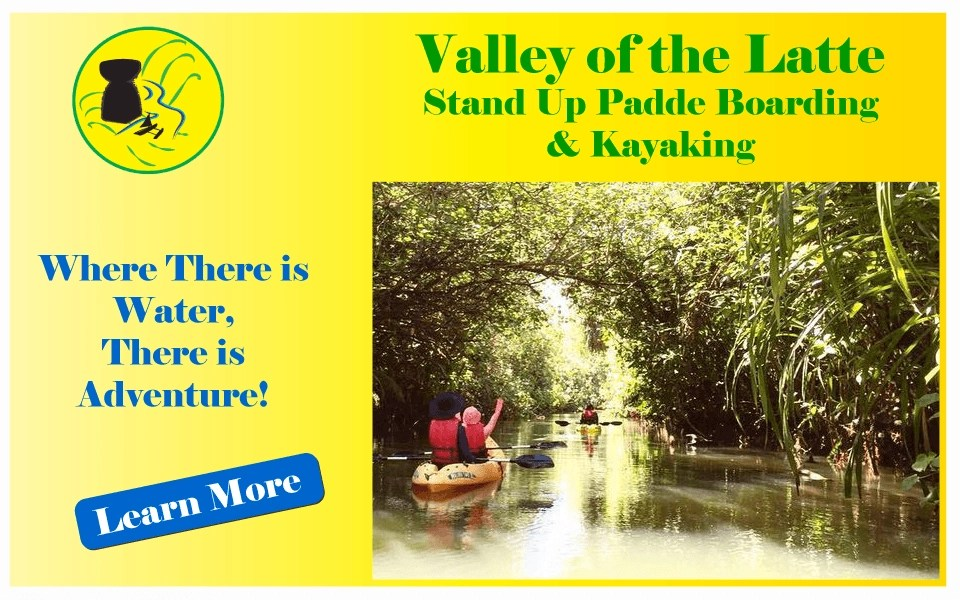 Valley of the Latte Guam Kayaking, Stand Up Paddle Boarding, Culture, Heritage, History, and Tours, Things to Do, Guam
