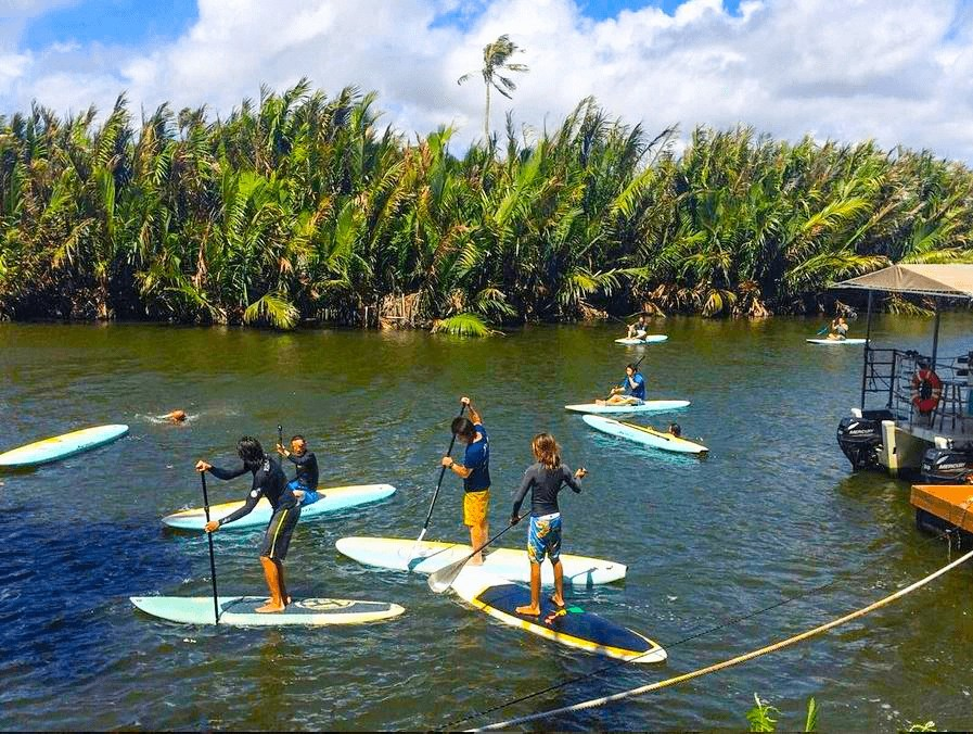 Valley of the Latte, Guam, Things to Do on Guam, Stand Up Paddle Boarding