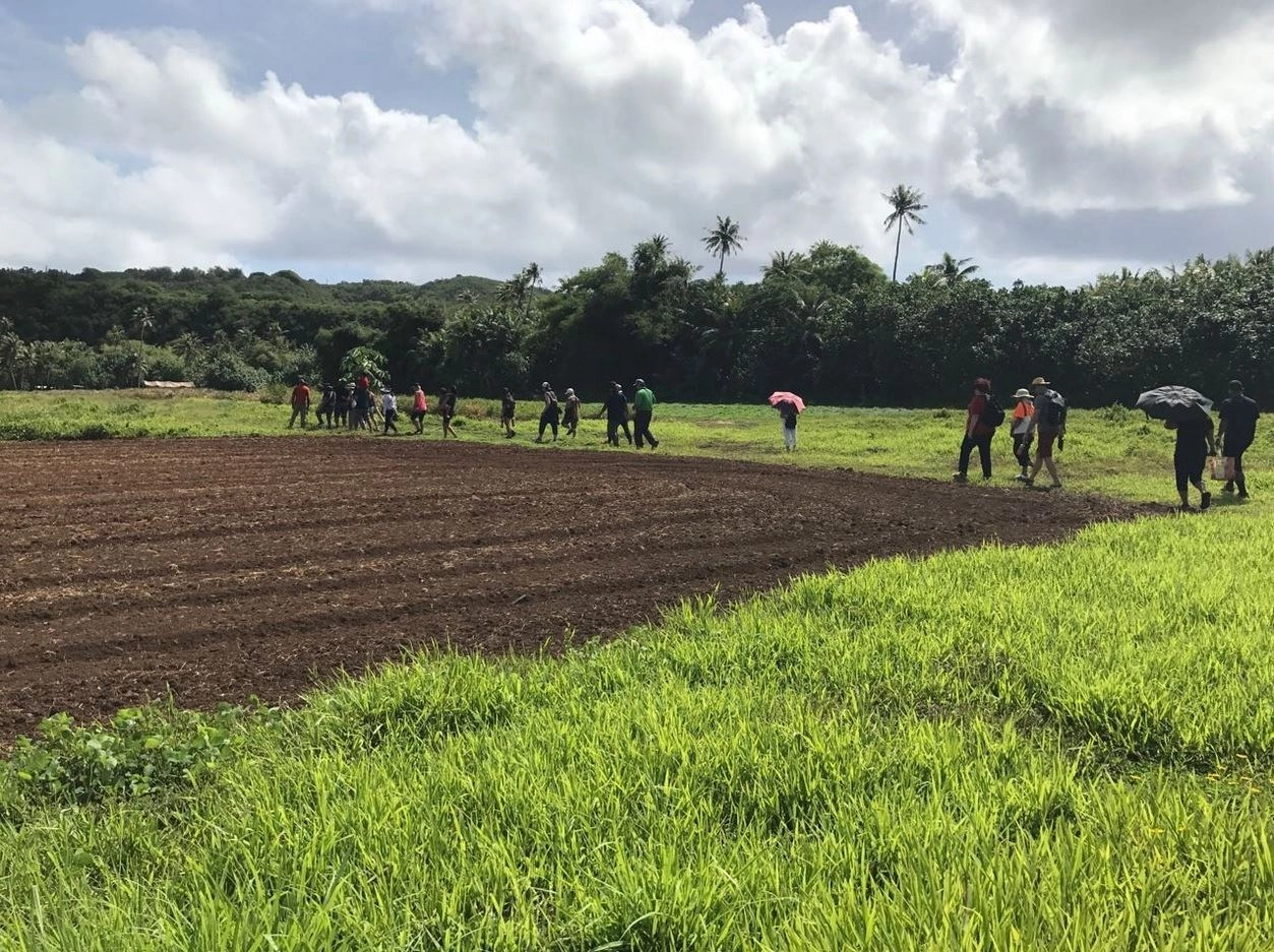 Valley of the Latte, Guam, Most outstanding Tours, Sustainability, Farms, Pineapples, Watermelon, Produce, farm to table