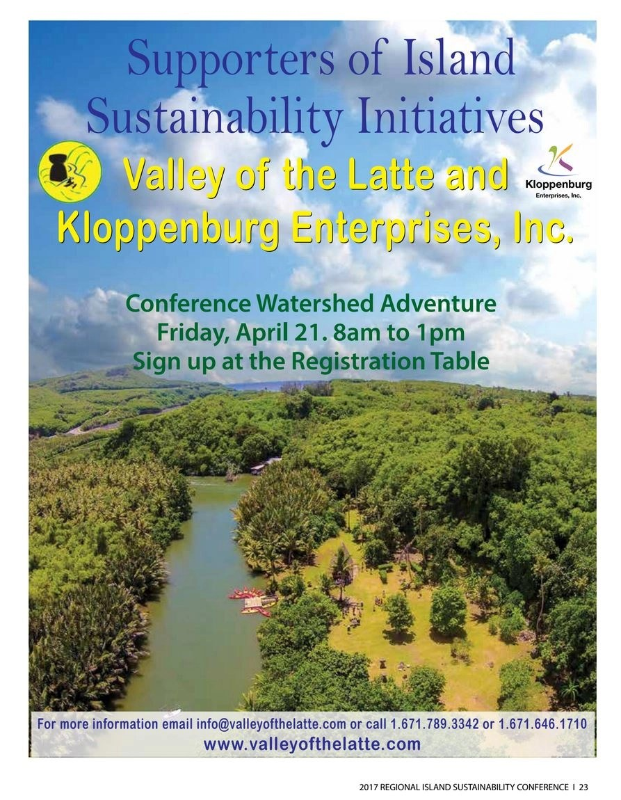 Island Sustainability Conference Guam 2017, Valley of the Latte, Eco-Tourism