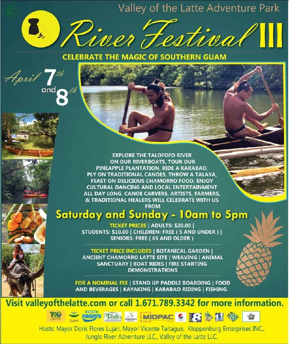 Valley of the Latte River Festival II, Events, Guam, Festival, River Fetival, Guam River Fest, Music, Culture