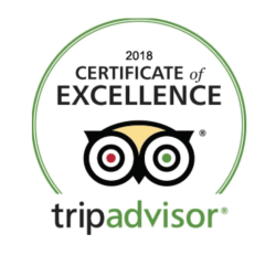 tripadvisor 2018, certificate of excellence, Guam's #1 tours, Valley of the latte adventure park