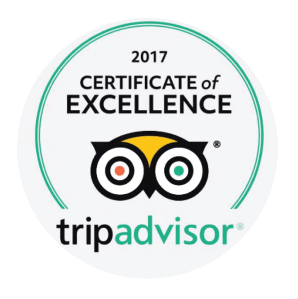 tripadvisor 2017, certificate of excellence, Guam's #1 tours, Valley of the latte adventure park