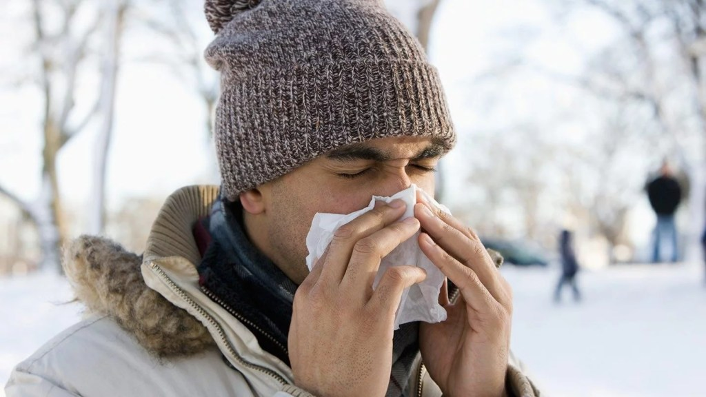 Do colds cause toothaches?