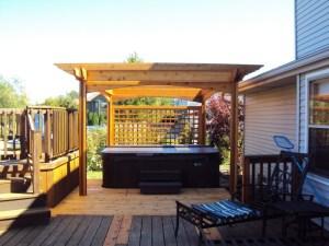 Wood Deck 16