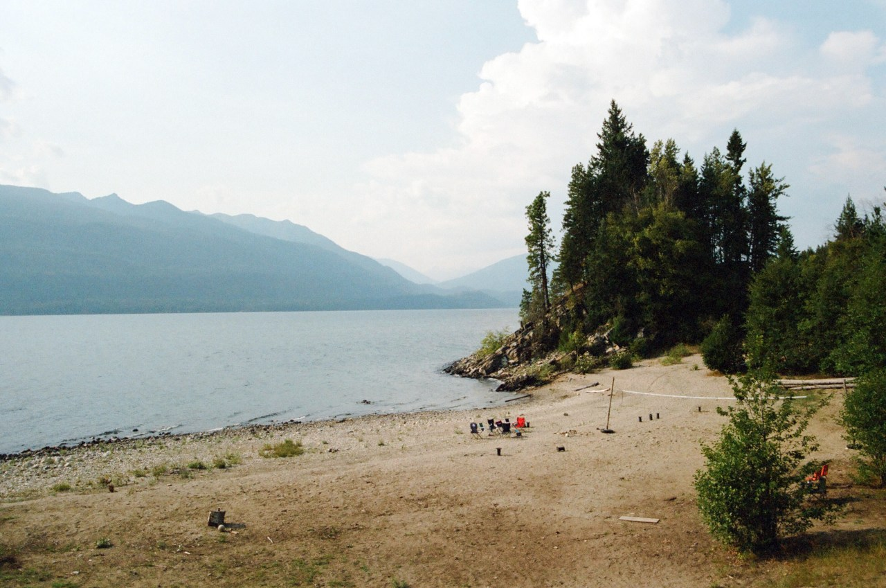 Family Camp at Dutch Harbour on Kootenay Lake