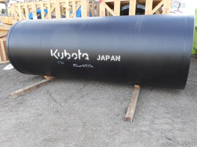 Large flexible pipelines from Japan will be installed in order to withstand seismic activities and landslide movements.