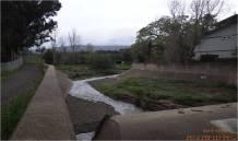 Before: Westmont Detention Basin in Santa Clara.