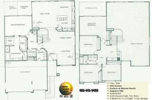 Image of Warner Ranch Tempe floor plans: model Saguaro 380