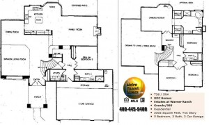 Image of Warner Ranch Tempe floor plans: model Grande 585