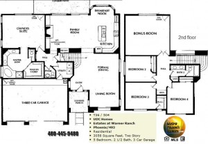 Image of Warner Ranch Tempe floor plans: model Phoenix 493