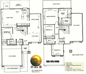 Image of Warner Ranch Tempe floor plans: model 2070