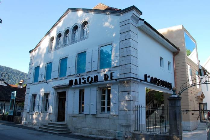 Maison de l'absinthe Môtiers Val-de-Travers