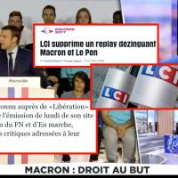 """Revoir """"l'émission censurée sur #Macron"""" par @LCI . On se demande bien pourquoi ..."""