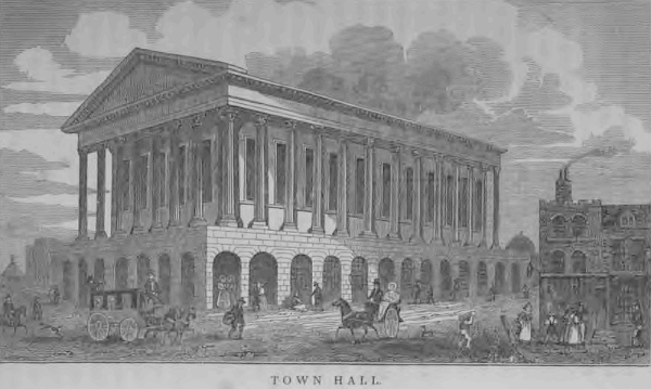 Birmingham Town Hall 19th Century