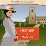 Murder in Moreton Audiobook Cover