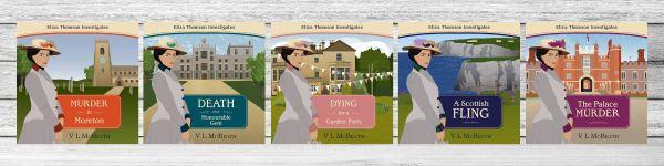Eliza Thomson Investigates Audio book covers full series
