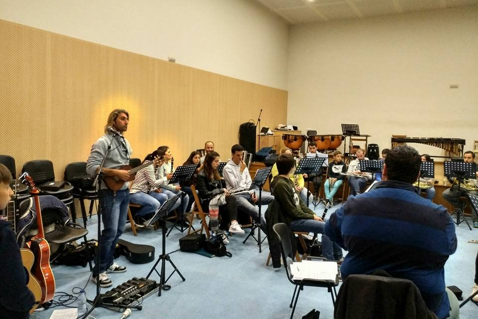 RUBÉN DE LIS E A AGRUPACIÓN MUSICAL DE BELESAR