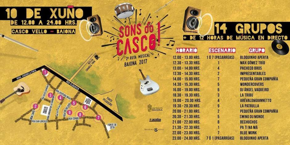 2ª RUTA MUSICAL SONS DO CASCO