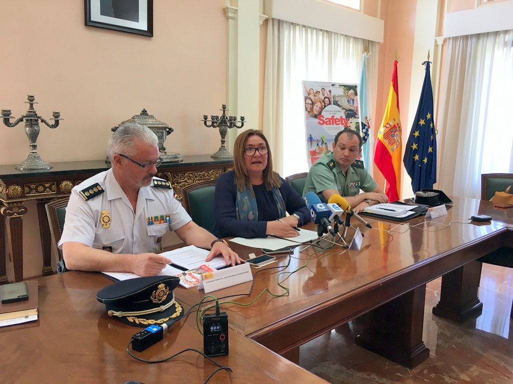 PRESENTACIÓN DO PLAN TURISMO SEGURO 2017 NA PROVINCIA DE PONTEVEDRA
