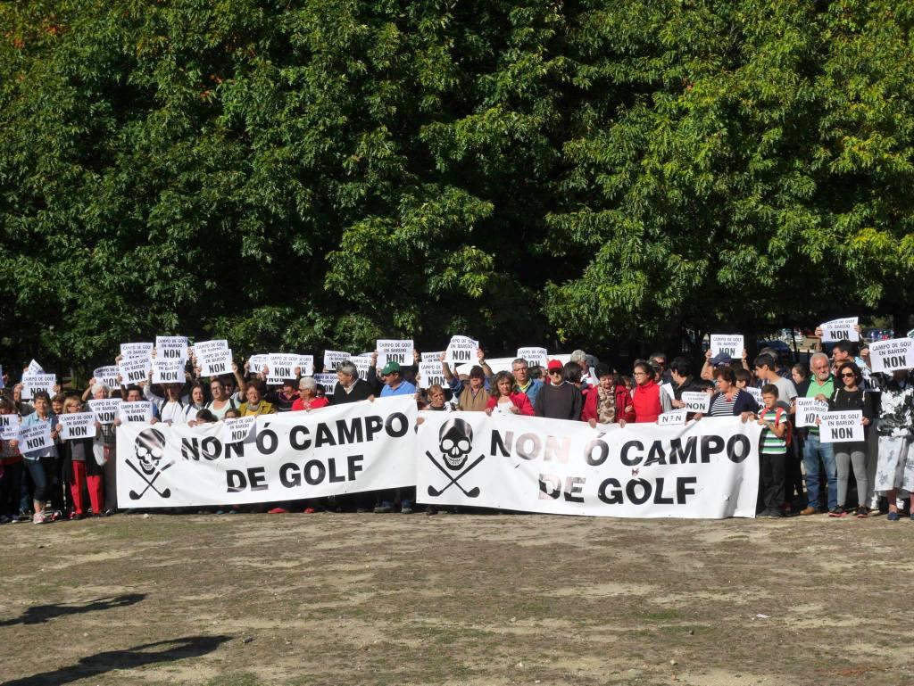 NON AO CAMPO DE GOLF DE BAREDO