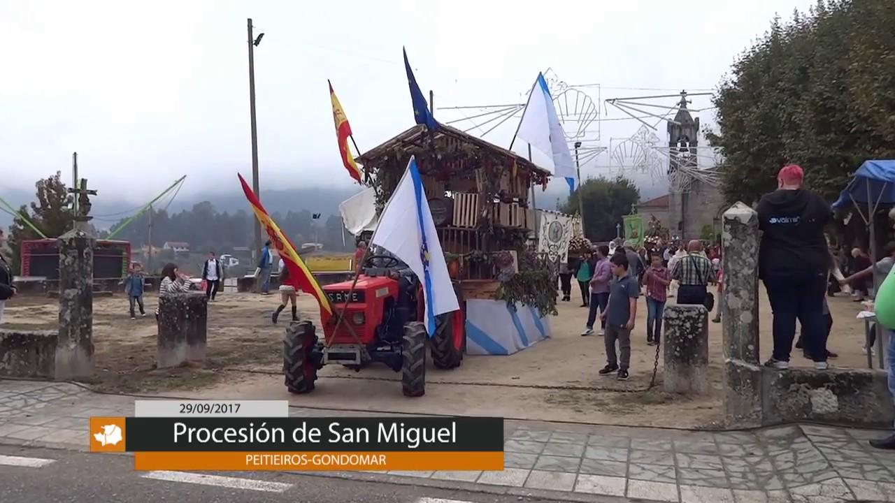 PROCESIÓN DE SAN MIGUEL EN PEITIEIROS