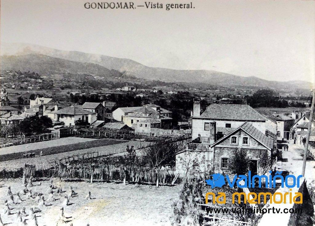 VISTA GENERAL DE GONDOMAR O VAL MIÑOR NA MEMORIA